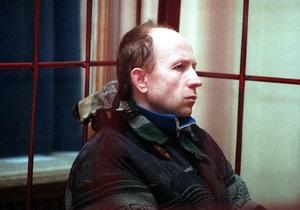 В житомирской тюрьме скончался серийный убийца Оноприенко