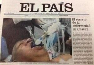 Фото Чавеса на операционном столе: автором поддельного снимка оказался известный итальянец