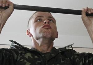 Фотогалерея: Рота, подъем! Киевские призывники приступили к службе в армии