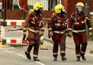 В английском порту произошел сильный пожар