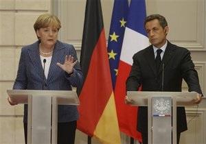 План Меркель и Саркози не вдохновил рынки