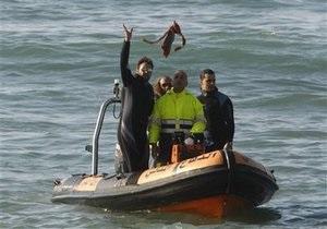 Ливанские аквалангисты обнаружили крышу рухнувшего в море эфиопского самолета