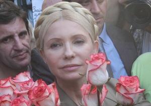 Тимошенко посетила концерт Алессандро Сафина
