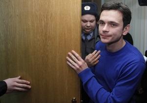 Суд оштрафовал Яшина на тысячу рублей за митинг в Москве 5 марта