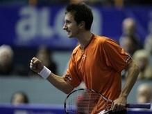 Теннис: Украинец сенсационно выиграл турнир в Загребе