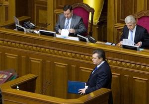 Закон о госбюджете на 2012 год направили на подпись Януковичу