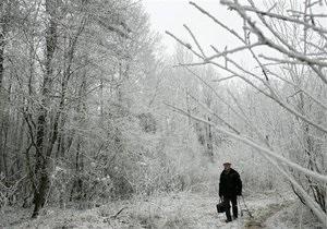 В Тернопольской области метели оставили в снежной блокаде почти 30 населенных пунктов