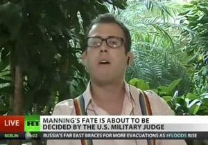 Американский журналист выступил в защиту геев на Russia Today