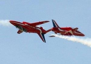 На авиасалоне в Борнмуте разбился самолет британских ВВС
