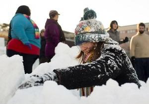 Игра в снежки: Бельгийцев будут штрафовать на 100 евро за бросание снежками