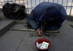 Киевские бездомные не хотят ночевать в приютах