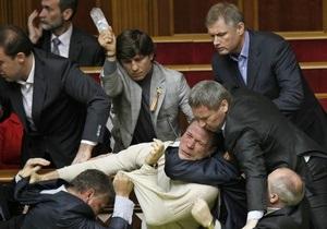 Корреспондент рассказал о парламентских бойцах из Партии регионов