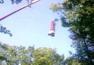 В Петербурге сломался аттракцион: люди зависли на высоте около 70 метров