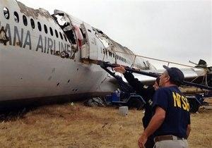 Авиакатастрофа в Сан-Франциско - новости США: Asiana Airlines намерена судиться с американскими СМИ из-за скандала с именами пилотов
