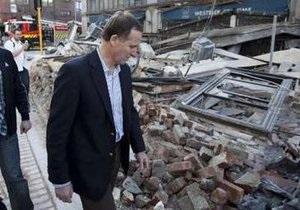 В Новой Зеландии произошло мощное землетрясение