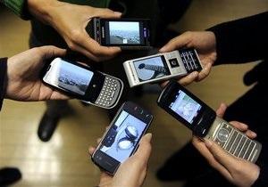 Продажи мобильных телефонов в мире сокращаются из-за кризиса