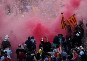 В Испании проходят многотысячные акции протеста