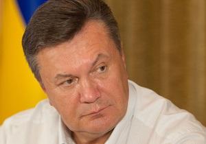 Янукович: Интеграцию в ЕС любой ценой Украина не воспринимает