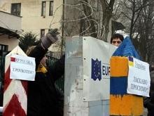 Жители Львовской области не выпускают из Украины граждан ЕС