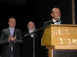 Глава «Сохнута» получил высшую награду Евроазиатского Еврейского Конгресса
