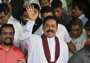 В Украину прибыл президент Шри-Ланки: сегодня его примет Янукович