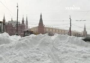 Европейский циклон засыпал снегом Центральную Россию