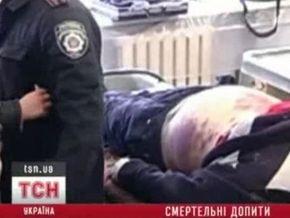 Украинцы умирают после допросов в милиции