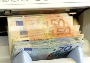 Курс евро снижается из-за долговых проблем Ирландии