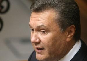 Янукович отложил введение в действие антикоррупционных законов