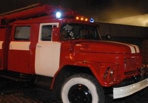 В Черкассах пожарный автомобиль, ехавший на вызов, врезался в маршрутный автобус