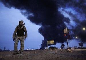 Ливийские повстанцы: Силы Каддафи применили установки Град при обстреле Мисраты