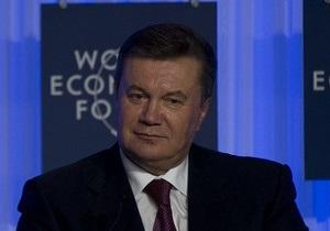 Янукович: Мы будем строить Европу в Украине