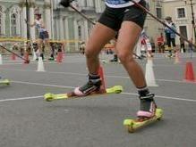 Лукашенко катался по Минску на роликовых лыжах
