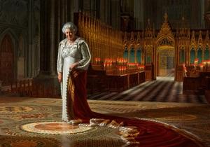 В Вестминстерском аббатстве обезображен портрет королевы