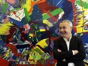 Дэмиен Херст будет создавать картины вместе с киевлянами