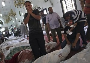 Столкновения в Египте: Египетские власти будут закрывать мечети, чтобы там не собирались сторонники Мурси