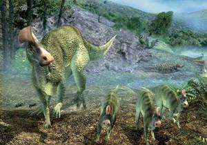 В Китае обнаружили следы массового панического бегства динозавров