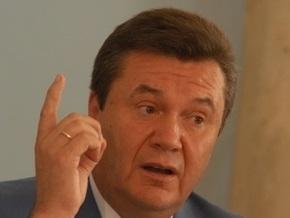 Янукович отказался от  междусобойчиков  с БЮТ