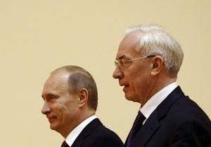 Газовый вопрос. В Москве начались переговоры Путина и Азарова