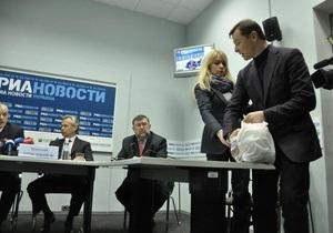 Ляшко сорвал пресс-конференцию главы Роспотребнадзора