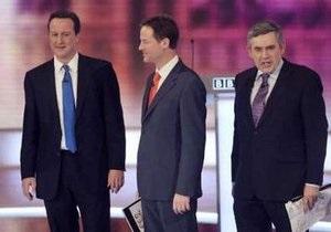 В Великобритании заключительный тур теледебатов завершился победой лидера консерваторов