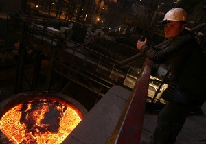Промпроизводство Украины сократилось на 3,2% в январе 2013 -Госстат