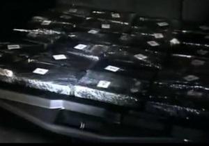 Итальянская полиция обнаружила в прибывших из Бразилии тракторах тонну чистого кокаина