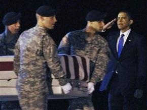 Обама лично встретил гробы с телами американских солдат