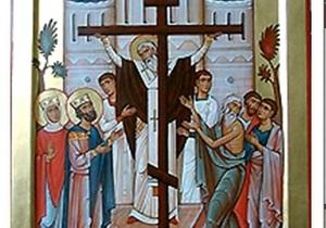 Православные празднуют Воздвижение Креста Господня