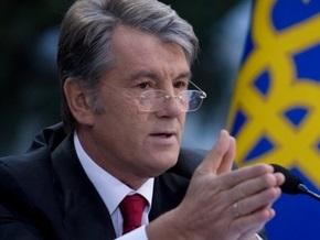 Ющенко внес в ВР свой вариант изменений к закону о выборах президента