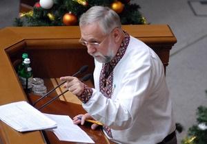 Кармазин объявил в Раде голодовку