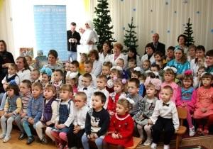 Новогодняя сказка от «Киевстар» заглянула в гости к деткам из Винницкого интерната