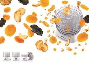 Запасы на зиму. Сушка для фруктов и овощей Zelmer 36Z011