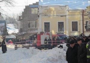 Взрыв Черновцы - В Черновцах неизвестный произвел взрыв в помещении медуниверситета